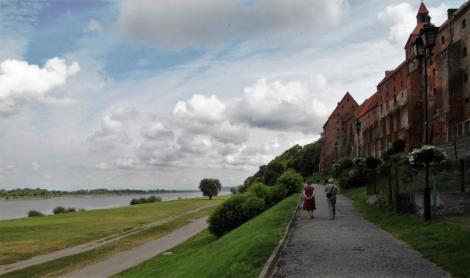 Graudenz [poln. Grudziądz]: Speicherhäuser an der Weichsel (2012)