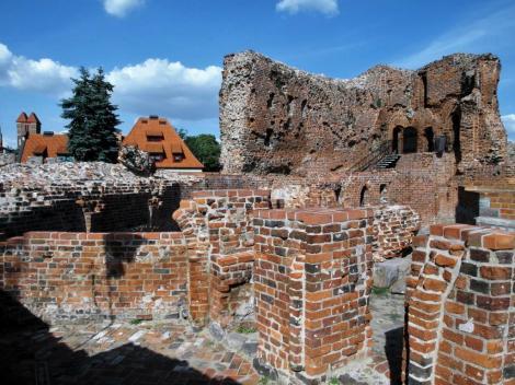 Thorn [poln. Torun]: Ruine der Deutschordensburg (2012)