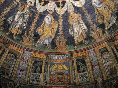 Baptisterium der Orthodoxen: Kuppelmosaik (2017)