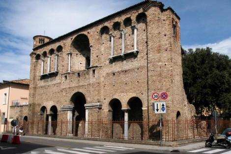 Ehemalige Salvatorkirche [auch als Palast des Theoderich bezeichnet] (2017)