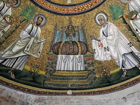 Baptisterium der Arianer: Kuppelmosaik (2017)