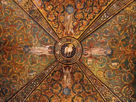 San Vitale: Mosaik im Chor (2017)