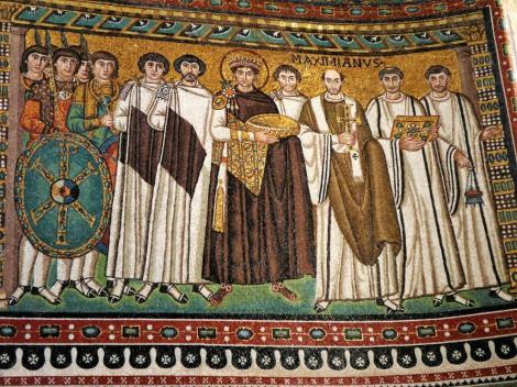 San Vitale: Kaiser Justinian und Gefolge (2017)