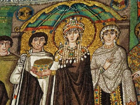 San Vitale: Kaiserin Theodora und Gefolge (2017)