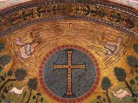Sant' Apollinaris in Classe: Apsismosaik (2017)