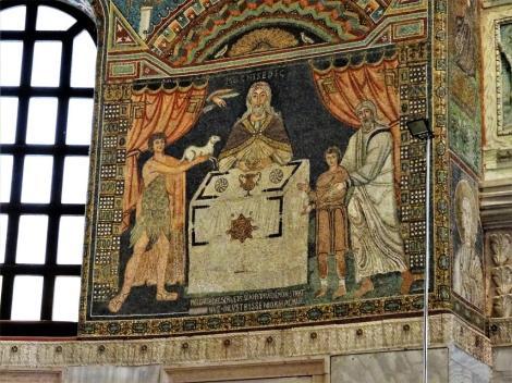 "Sant' Apollinaris in Classe: Mosaik ""Drei Opfer"" (2017)"