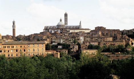 Blick auf Siena (1991)
