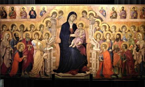 """Dommuseum: """"Maesta"""" von Duccio (2017)"""