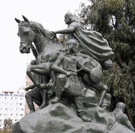 Damaskus: Saladin-Denkmal (2008)