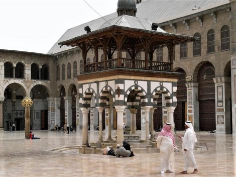 Bild der Omaijadenmoschee Damaskus - Glockenpavillon
