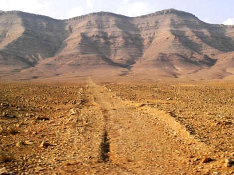 Wüstenlandschaft östlich Damaskus (2008)