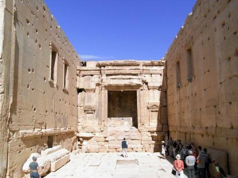 Baal-Tempel: Innenansicht der Cella (2008)