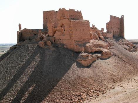 Arabische Burg Qalaat ar Rahba (2008)