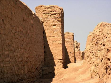 Dura-Europos: Stadtmauer (2008)