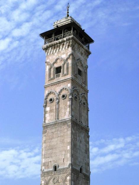 Aleppo: Minarett der Omaijadenmoschee (2008)