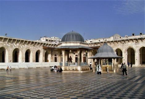 Aleppo: Hof der Omaijadenmoschee (2008)