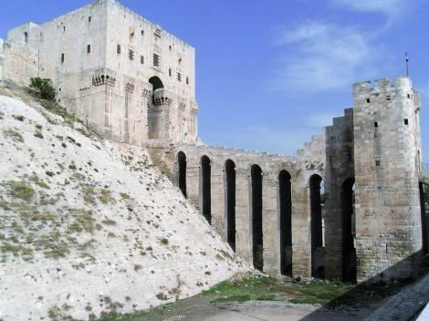 Aleppo: Zitadelle - Torturm (2008)