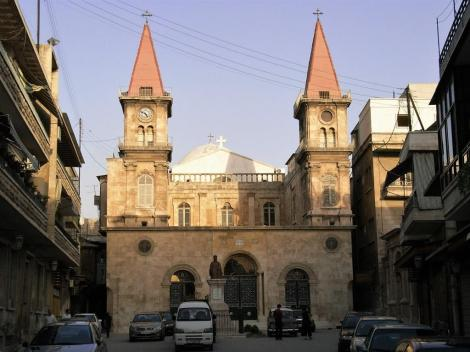 Aleppo: Maronitenkirche (2008)