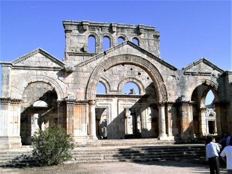 Simeonskloster: Vorhalle der Kirche (2008)