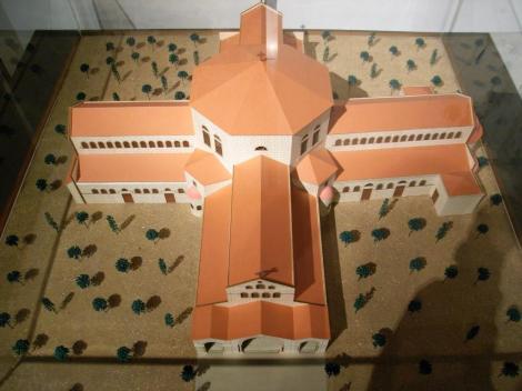 Simeonskloster: Modell der Kirche [Museum für Natur und Mensch Oldenburg]