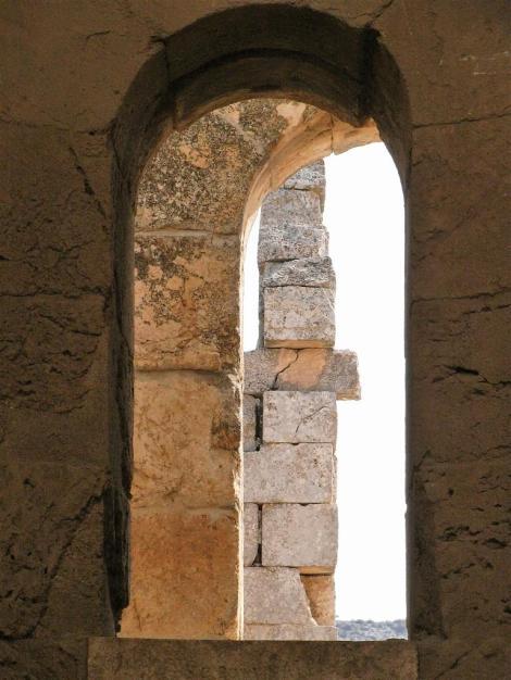 Simeonskloster: Baptisterium - Fensterdetail (2008)