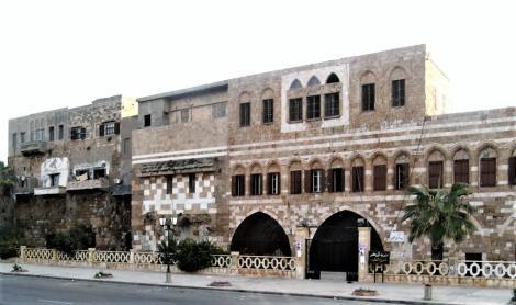 Tartus: Zitadelle der Kreuzfahrer [stark überbaut und verändert] (2008)