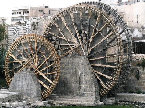 "Hama: Wasserräder [""Norias""] am Orontes (2008)"