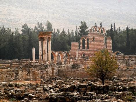 Anjar: Ruine des Omaijadenpalasts (2008)