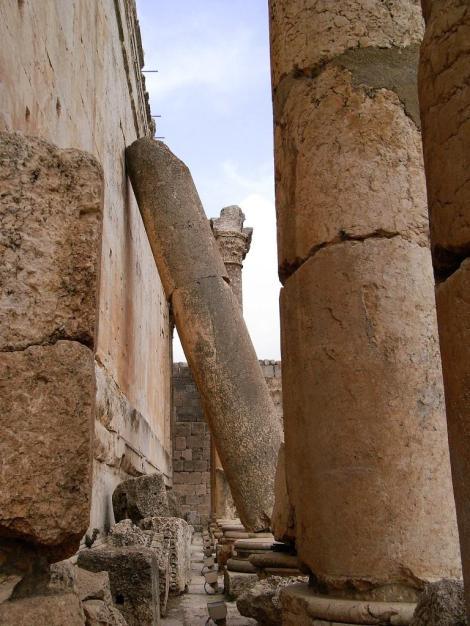 Baalbek: Bacchus- bzw. Venustempel (2008)