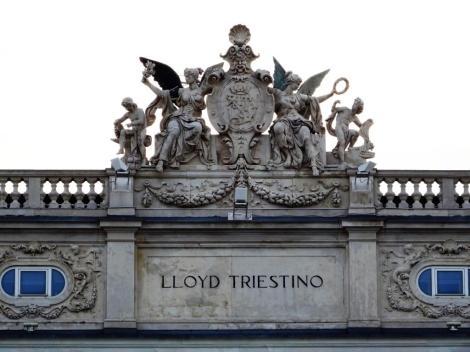 Gebäude des Triester Lloyds (2017)