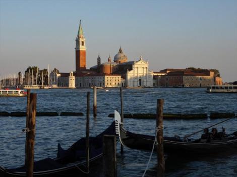 Blick zur Kirche San Giorgio Maggiore (2017)