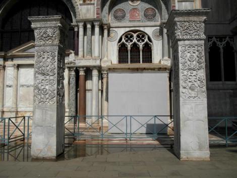 Pfeiler aus Byzanz bei San Marco (2017)
