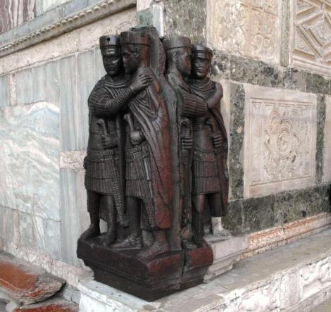 Figurengruppe der Tetrarchen an San Marco (2017)