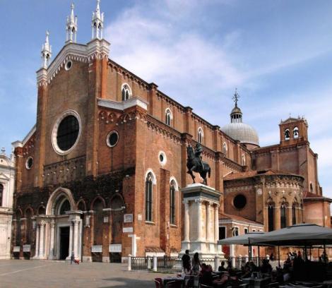 Kirche San Giovanni e Paolo und Colleoni-Denkmal (2017)
