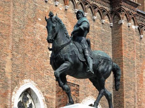 Reiterstandbild Colleoni von Verrocchio (2017)