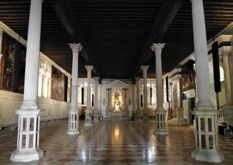 Scuola Grande di San Rocco: Erdgeschoss [Sala Terrena] (2017)