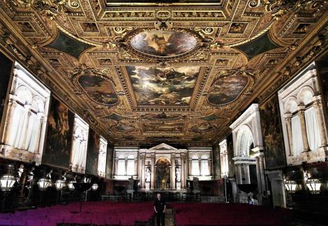 Scuola Grande di San Rocco: Obergeschoss - Sala Capitolare (2017)