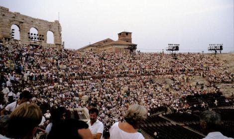Arena: Aida-Aufführung (1988)