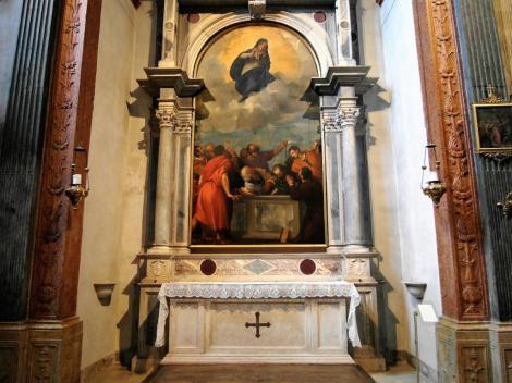 """Dom: """"Mariä Himmelfahrt"""" von Tizian in der Cartolari-Nichesola-Kapelle (2017)"""