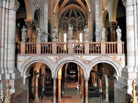San Zeno: Krypta und Chor (2017)