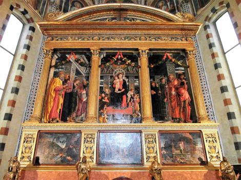 San Zeno: Triptychon von Mantegna (2017)