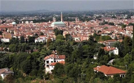 Blick vom Monte Berico auf Vicenza (2017)