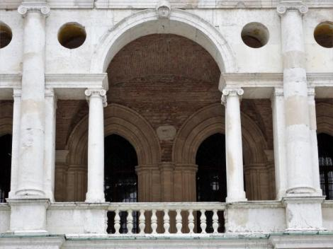 Basilica Palladiana - Nordseite: Palladio-Motiv (2017)