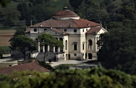 Villa Rotonda von Palladio [Blick vom Monte Berico] (2017)