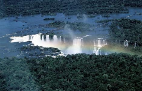 Iguaçu-Fälle von oben: Teufelsrachen (2003)