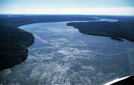 Iguaçu vor den Wasserfällen (2003)