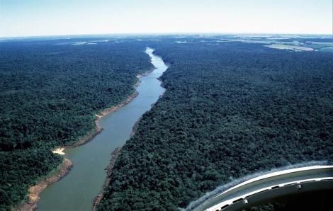 Iguaçu nach den Wasserfällen (2003)