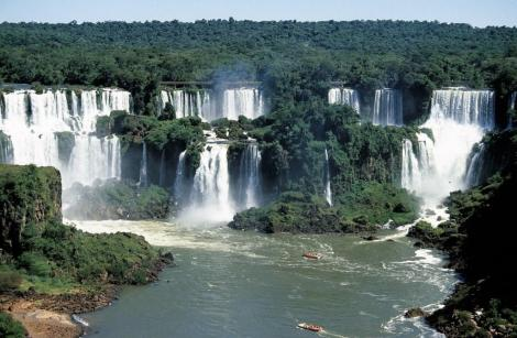 Iguaçu-Fälle: Blick vom Hotel das Cataratas (2003)