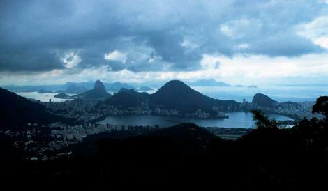 Rio de Janeiro: Blick von der Vista Chinesa (2003)