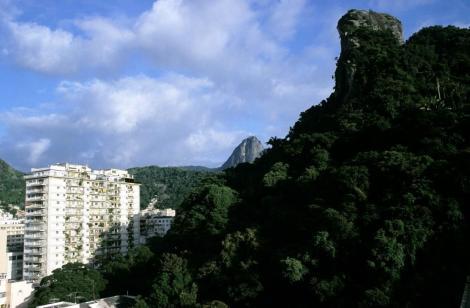 Rio de Janeiro: Blick zum Corcovado (2003)